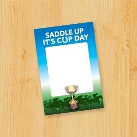 Saddle up! It's Cup Day!
