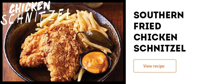 Southern Fried Chicken Schnitzel