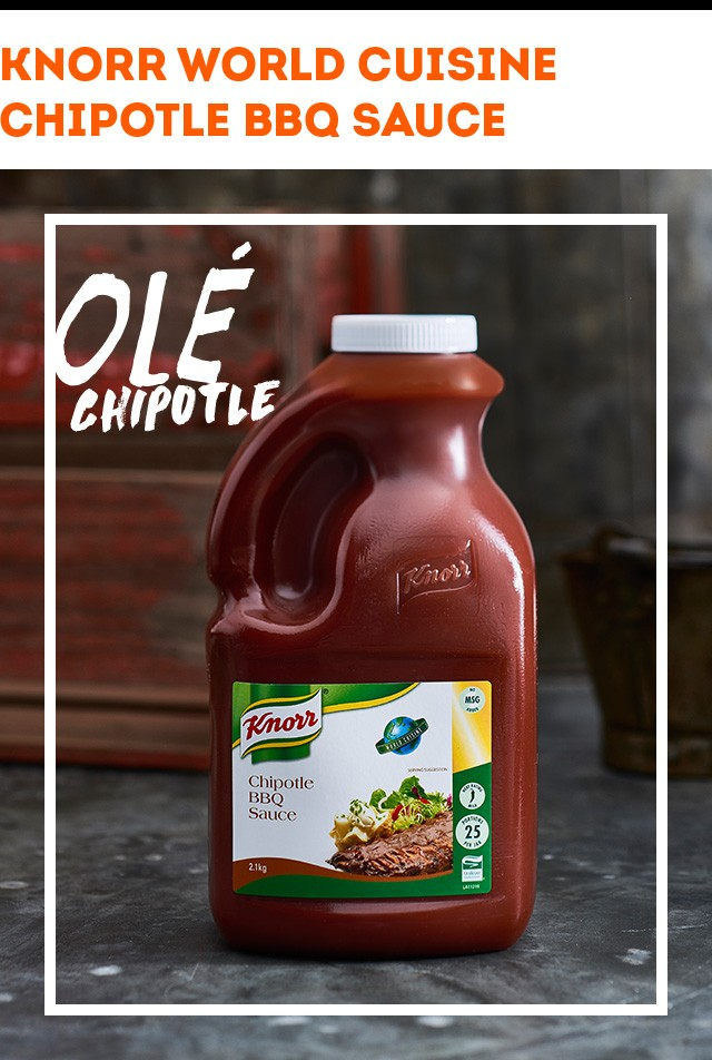 KNORR World Cuisine Chipotle BBQ Sauce