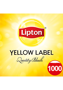 LIPTON Quality Black Tea Pot Bags 1000's - Your residents will be happy every tea time with LIPTON tea. It is made of 100% sustainably sourced tea leaves from Rainforest Alliance Certified Farms.