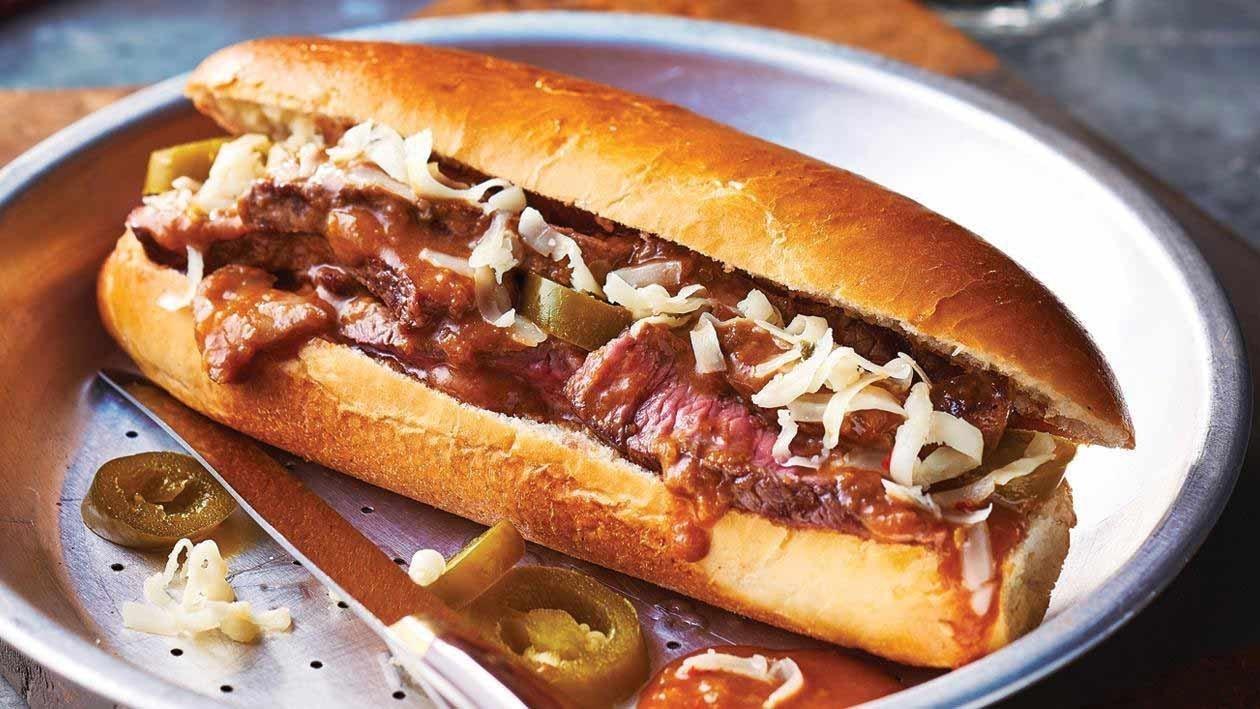 Philly Steak Roll – Recipe