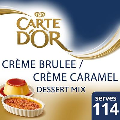 CARTE D'OR Creme Brulee Mix 1250g -