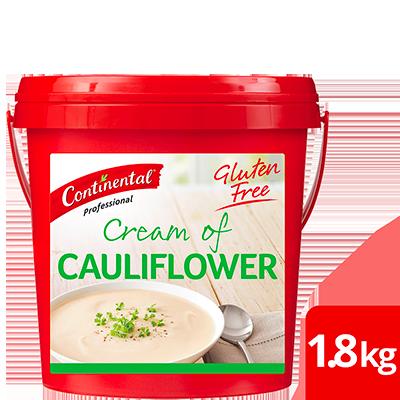 CONTINENTAL Professional Gluten Free Cream of Cauliflower Soup Mix 1.8kg