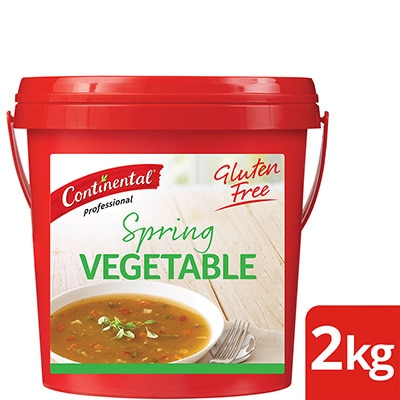 CONTINENTAL Professional Gluten Free Spring Vegetable Soup Mix 2kg -