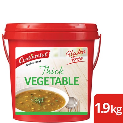 CONTINENTAL Professional Gluten Free Thick Vegetable Soup Mix 1.9kg -