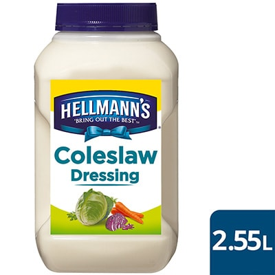HELLMANN'S Coleslaw Dressing 2.65 kg/2.55 L -