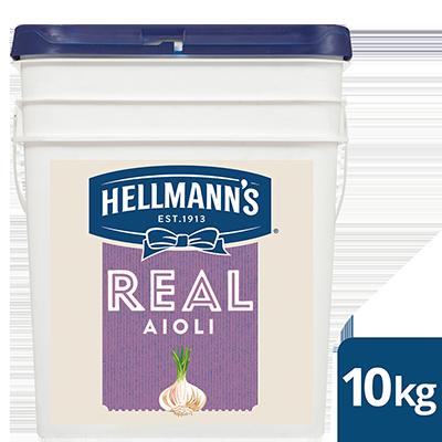 HELLMANN'S Real Aioli 10 kg