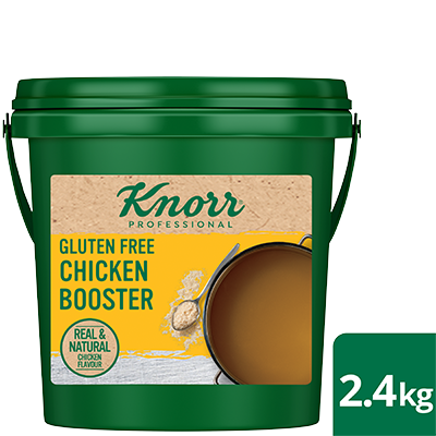 KNORR Chicken Booster 2.4 kg - Knorr Chicken Boosters deliver real and natural deliciousness without compromising on taste.