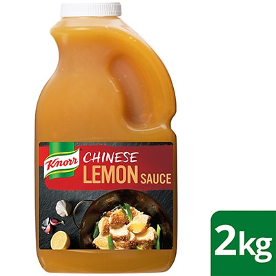 KNORR Chinese Lemon Sauce GF 2kg
