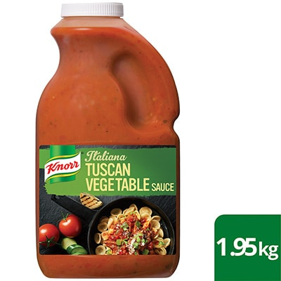 KNORR Italiana Tuscan Vegetable Sauce GF 1.95 kg -