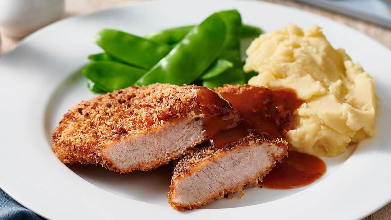 Pork schnitzel – Recipe